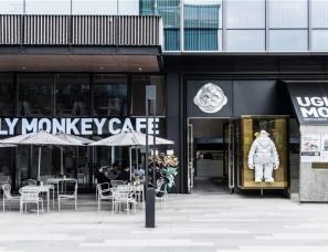 圆太室内设计--UGLY MONKEY猴子咖啡