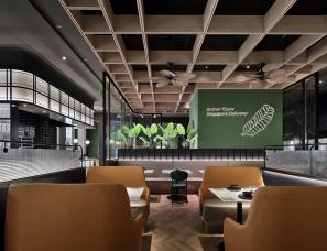 艺鼎设计--精致复古的新加坡餐厅