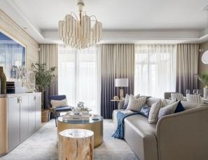 邸设设计 & 乐尚设计--阿玛尔菲,五十度蓝 | B户型