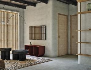 F9 Studio--泥土灰色调的冷淡工业风家居设计