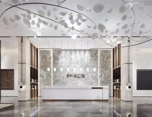 共生形态设计--保利悦公馆销售中心