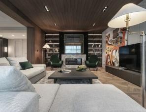 Yodezeen | 490m²顶级复式,满满的豪宅感