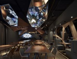 风合睦晨空间设计--北京蓝色港湾花酷餐厅