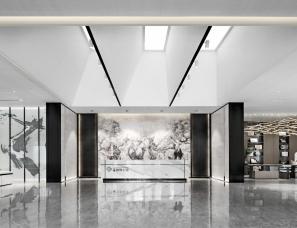 上海大研建筑设计--银川·铂悦公馆售楼处