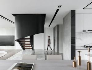 近境制作+赛瑞迪普--建业新筑售楼处+上叠中叠下叠样板间