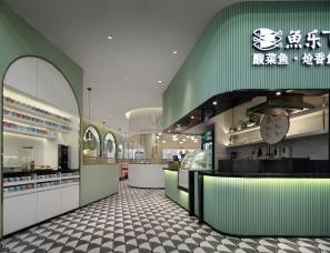 深圳酸菜鱼餐厅设计【艺鼎品牌全案】鱼乐飞