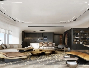 CCD郑中设计--北京三里屯精装豪宅 世茂IN三里308㎡