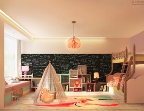 粉色温馨卧室