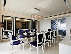黄庭芝设计--竹北景觀宅邸-黑白現代新古典