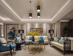 深圳山石空间艺术设计--天一国际 总裁官邸