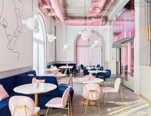 温柔与野蛮的交融的工业风法式餐酒馆
