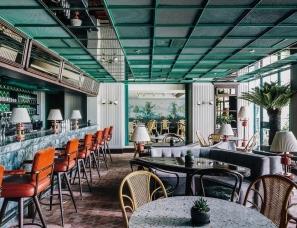 傅厚民设计--香港Louise餐厅