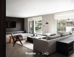 LND力那设计 X Royana | 温州锦绣名园335㎡极简私宅