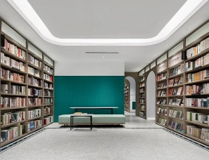 黄全设计--上海幸福集荟·黑石 图书咖啡文创集合店