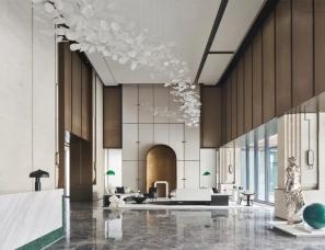 上海乐尚设计--保利锦上售楼处