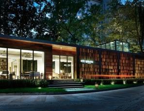 风合睦晨空间设计--丽都花园BLUE LAKE罗兰湖餐厅