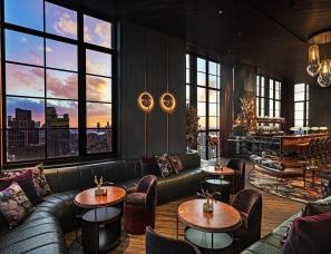 Rockwell Group--Moxy Chelsea酒店公共休闲区域