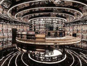 """峻佳设计--厦门""""岛上书店"""",知识新零售时代的生活梦想"""