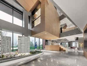 启思空间设计--长沙力高凤凰新天售楼处