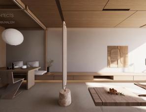 木卡建筑设计--容 105㎡私宅