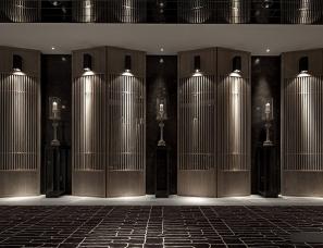 深圳矩阵纵横设计--重庆万科悦湾销售会所
