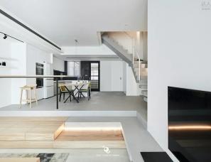 虫点子创意设计--大空间感的复式住宅
