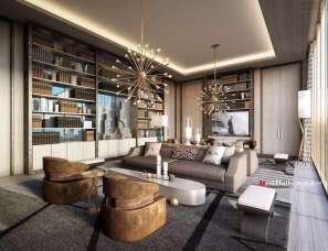 Jean Louis Deniot设计--法式浪漫火热高级灰的爱丽舍公寓