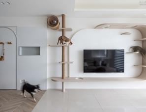 寓子设计--130㎡亲子宠物宅