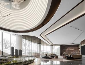 HWCD设计 | 武汉龙湖清能·天奕售楼处