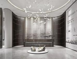 上海大研建筑设计--青岛世茂·璀璨天樾售楼处
