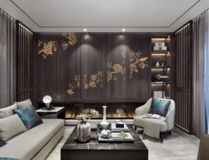 H DESIGN--重庆璧山绿岛中心别墅样板房