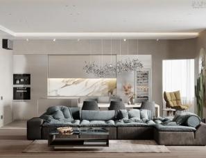 王海东设计--三口之家秒杀上亿豪宅!越简单,越高级