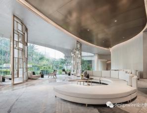 HWCD设计--广州首开龙湖·天奕售楼处