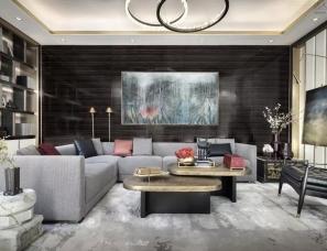 梁志天x乐尚设计:万科安品园舍别墅,文雅和畅的当代写意