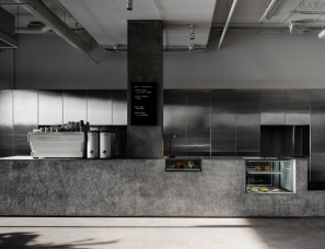 Ritz & Ghougassian--墨尔本极简主义咖啡店