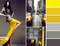 【色彩家】黄色加灰色—冷峻与活力的碰撞,点亮沉闷冬季