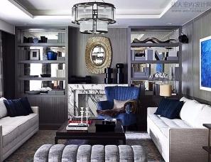 【色彩家】高级灰+蓝色,高规格演绎都市优雅美学