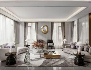 尺度设计&蜜尔设计--重庆万科悦湾·江上明月别墅