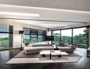 刘荣禄国际空间设计--深圳华侨城私宅220㎡