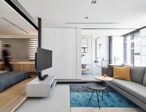 虫点子创意设计--设计师郑明辉自宅 虫宅一号 46㎡单层