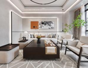 柏舍设计--重庆雅居乐·滨爵府联排別墅样板房300㎡