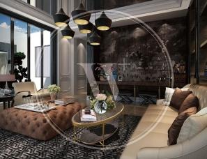 香港无间设计吴滨作品--鹏欣一品漫城四期别墅LY2户型