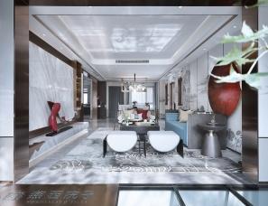 天鼓装饰设计--北京亿城燕西院子61#联排别墅