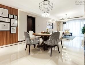 国宾首府174㎡现代风格设计案例