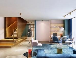 共向设计--赣州中创国际公寓三套样板房120㎡+160㎡+60㎡