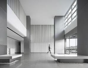 WED中熙设计--东宇物流办公大堂空间