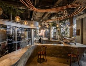 力场建筑设计--Metal Hands Coffee铁手咖啡制造总局