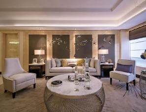 黄志达设计--<繁華中的舒心一隅>国瑞紫金台样板房