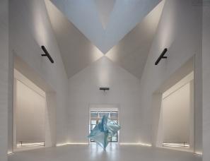 渭南万科城市会客厅:艺术化的表现,塑造精神自由