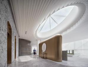 邱德光设计+万有引力设计--宝能·佛山云境台售楼处